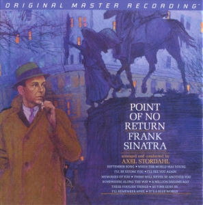 Frank Sinatra - POINT OF NO RETURN / MOBILE FIDELITY SACD HYBRID