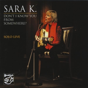 Sara K. - SOLO LIVE / STOCKFISCH RECORDS  CD ( STEREO )