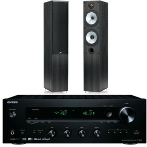 Onkyo TX-8250 + Monitor Audio MR4