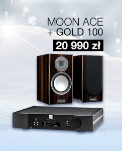 Zestaw MOON ACE + Monitor Audio Gold 100