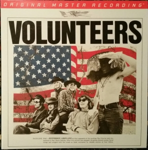 Jefferson Airplane - VOLUNTEERS / MOBILE FIDELITY 180G 2LP VINYL
